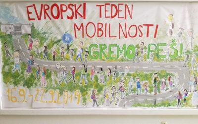 GREMO PEŠ! Evropski teden mobilnosti