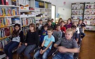 Obisk ljudske knjižnice – 3. razred