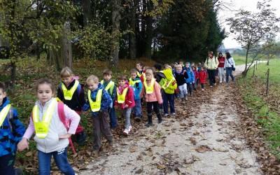 1. razred – pohod po Urbanovi poti