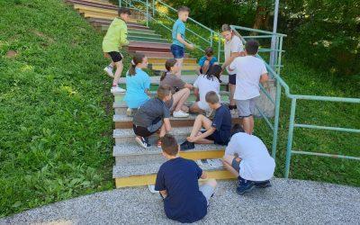 Barvanje stopnic